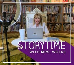 Storytime with Mrs. Wolke