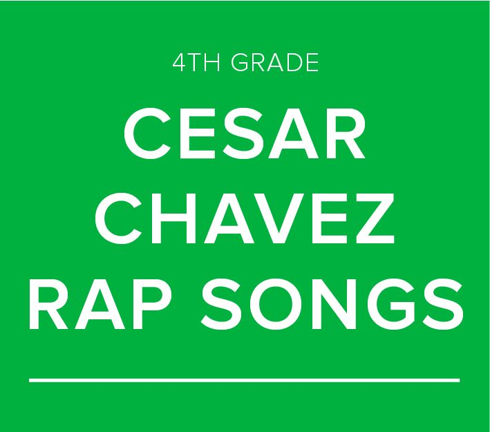 DEI Stories: 4th Grade Rap Songs in Honor of Cesar Chavez Day